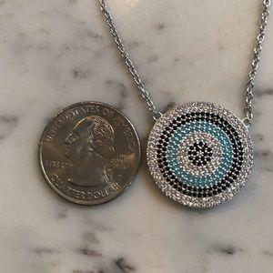 Jewelry - 925 Sterling silver evil eye pendant